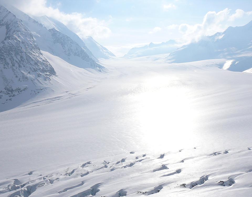 raid glaciaire